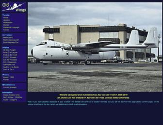 oldwings.nl screenshot