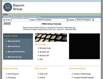 baycongroup.com screenshot