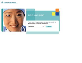 providers.kaiserpermanente.org screenshot