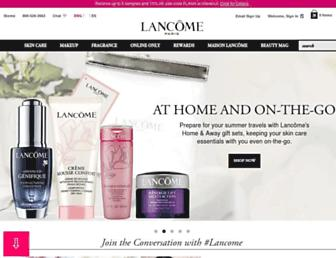 lancome-usa.com screenshot