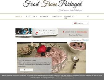 Thumbshot of Foodfromportugal.com