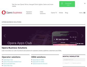 operasoftware.com screenshot