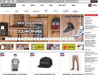 snowbitch.pl screenshot