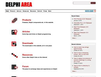delphiarea.com screenshot