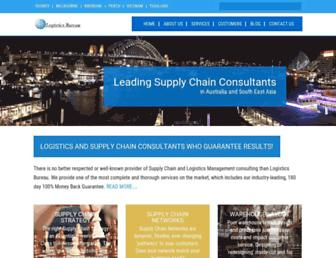 logisticsbureau.com screenshot