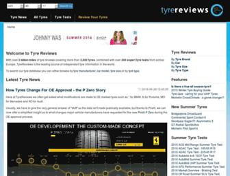 tyrereviews.co.uk screenshot