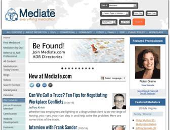 mediate.com screenshot