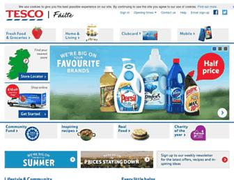tesco.ie screenshot