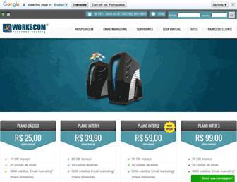 workscom.com.br screenshot