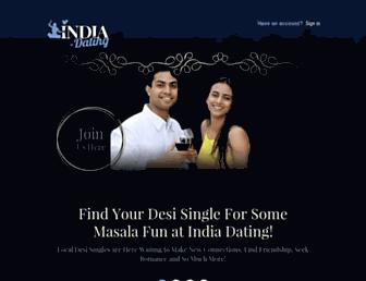 Thumbshot of India-dating.org