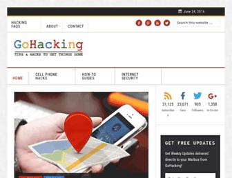 Thumbshot of Gohacking.com