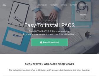 sonicdicom.com screenshot