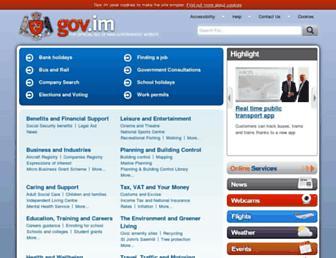 gov.im screenshot
