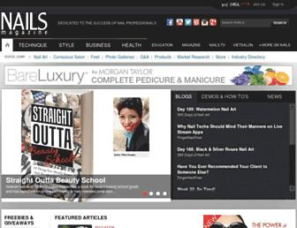 nailsmag.com screenshot