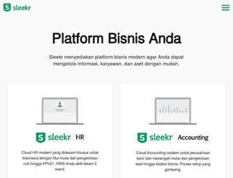 sleekr.co screenshot