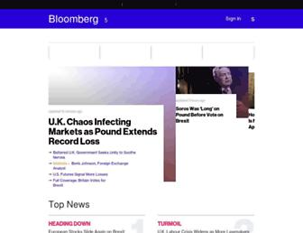 Thumbshot of Bloomberg.com