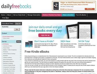 Thumbshot of Dailyfreebooks.com