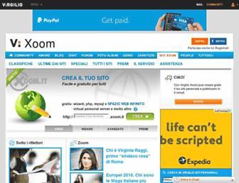 xoomer.virgilio.it screenshot