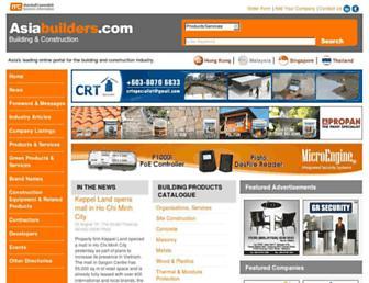 asiabuilders.com.my screenshot