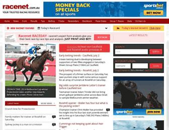 Thumbshot of Racenet.com.au