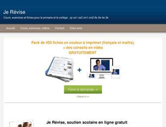 jerevise.fr screenshot
