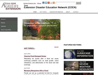 Main page screenshot of texashelp.tamu.edu
