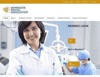 mndental.org screenshot