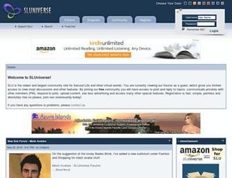 Thumbshot of Sluniverse.com