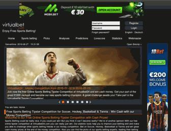 virtualbet24.com screenshot