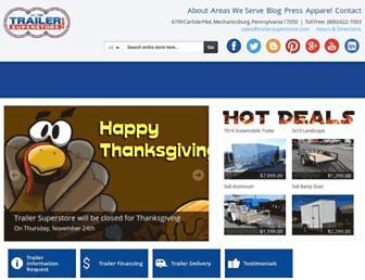 trailersuperstore.com screenshot