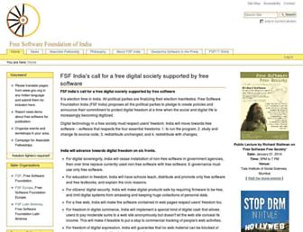 Thumbshot of Fsf.org.in