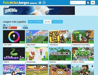 paisdelosjuegos.com.co screenshot