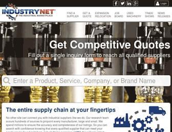 industrynet.com screenshot