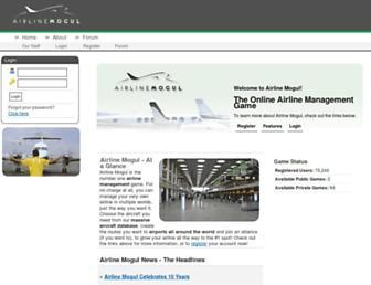 Thumbshot of Airlinemogul.com
