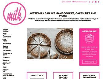 Thumbshot of Milkbarstore.com