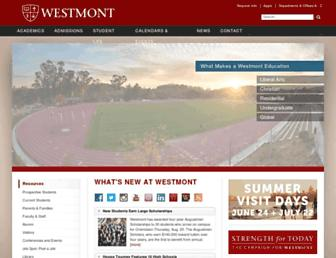 Thumbshot of Westmont.edu