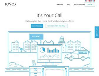 iovox.com screenshot
