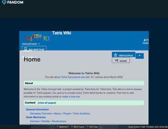 tetris.fandom.com screenshot