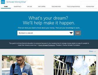 schwabmoneywise.com screenshot