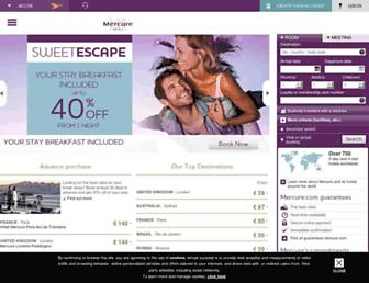 Thumbshot of Mercure.com