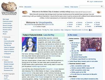 uncyclopedia.wikia.com screenshot