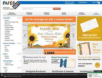 paperdirect.com screenshot