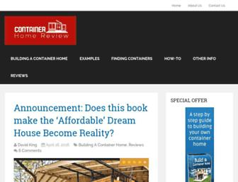 containerhomereview.com screenshot