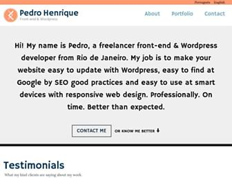 Thumbshot of Pedrohs.com