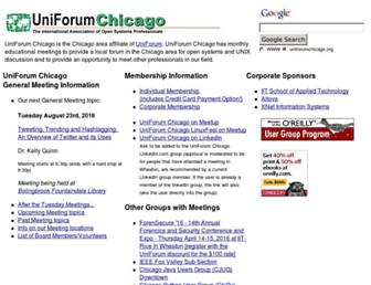 uniforumchicago.org screenshot