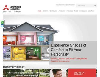 Thumbshot of Mitsubishicomfort.com
