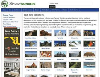 Thumbshot of Famouswonders.com