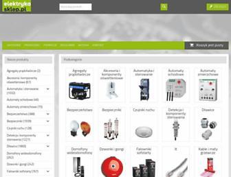 elektrykasklep.pl screenshot