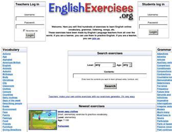 Thumbshot of Englishexercises.org