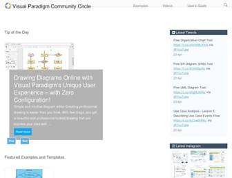 circle.visual-paradigm.com screenshot